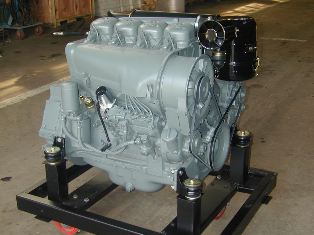 Deutz Engine Deutz F4l912 Air Cooled 60hp 4 Cylinder