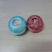 high quality pearl dmc cotton thread in ball