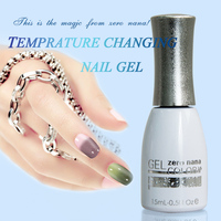 2016 original factory temperature change nail gel uv color gel nail polish