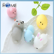 Mini Squishy Cute doll Squeeze Stretchy Animal Healing Stress Hand Fidget vent Toys