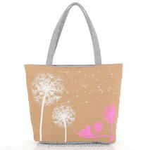 recycled organic blank standard size printed cotton canvas tote bag