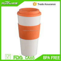 Wholesale palstic cups with silicone sleeve RH120-24