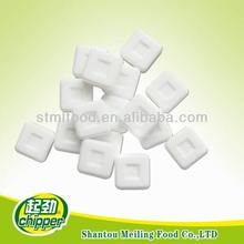 Extra strong mint compressed chewing gum