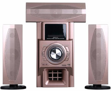 Guangzhou factory louder 5.1 wireless speakers surround home theater with USB/SD remote