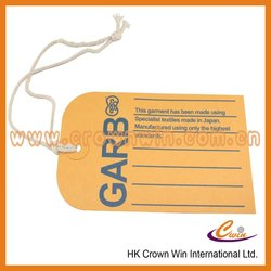 airline luggage tag hang tag