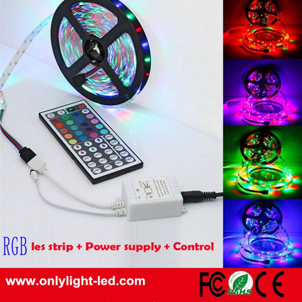High brightness flexibel Remote/5M 300 LEDs light strip SMD2835 RGB light led strip