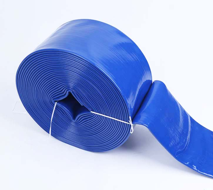 6 Inch Industry Pvc Irrigation Lay Flat Hose Pipe