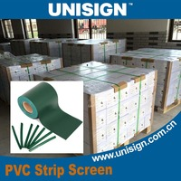 Unisign Water proof construction Awning Tarpaulin 35m PVC Strip Fence