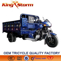 2015 Cargo Motor 250cc/300cc china cheap tricycle five wheeler gas powered tricycle