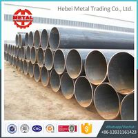 carbon high quality large diameter carbon steel spiral steel pipe