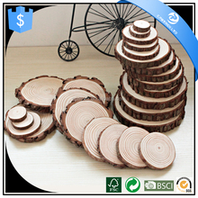 Best selling home adornments unfinished China thin wood cutting discs