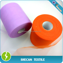"6"" x 100yds Tulle roll for wedding decoration"