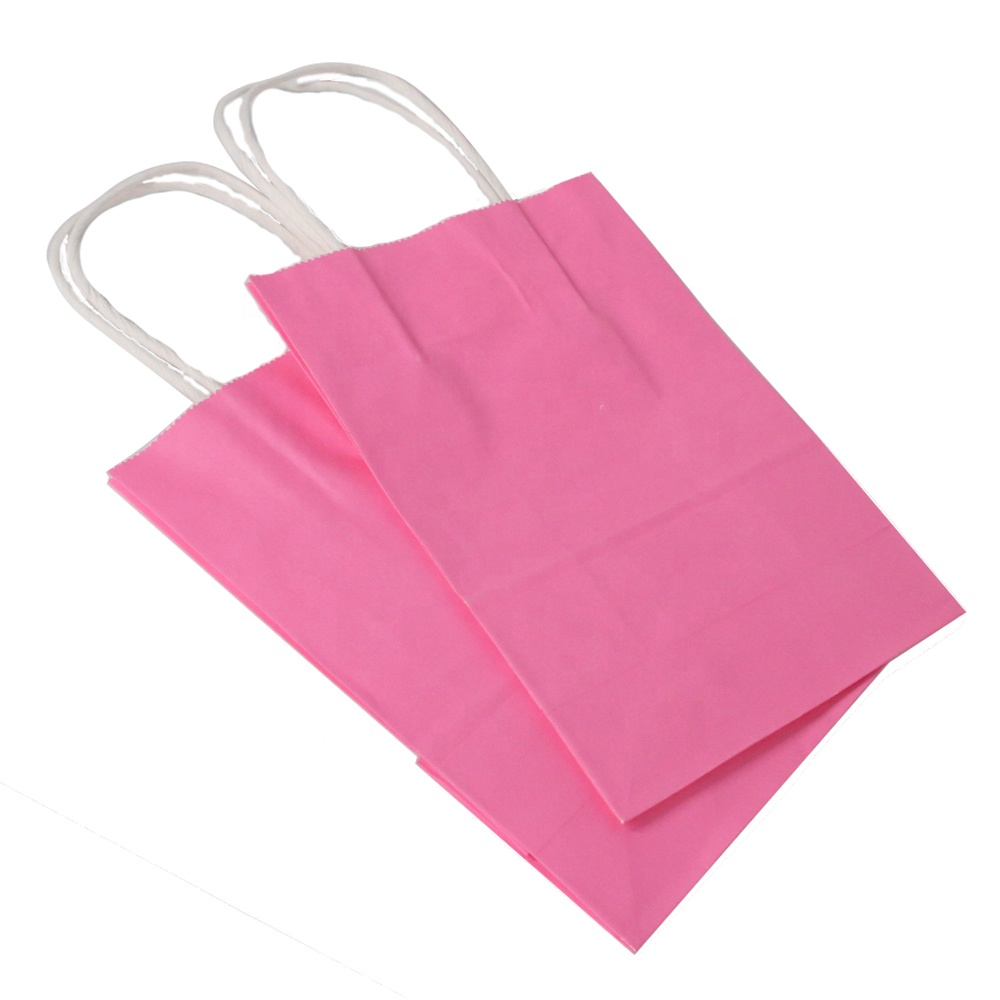 Shopping Flexo Printing Custom With Logo For Clothes Bag Paper