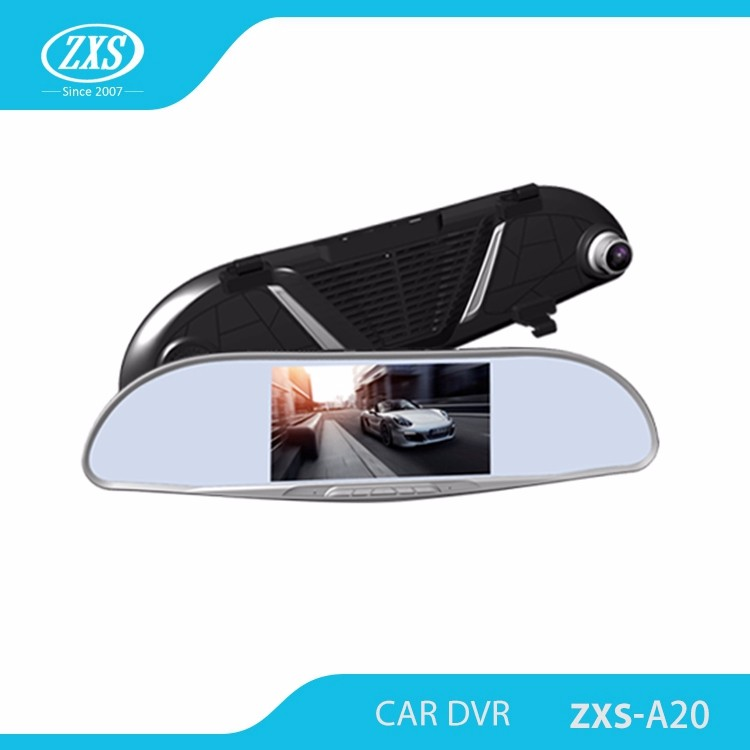 Full hd 1080p car camera front and rear view dash cam