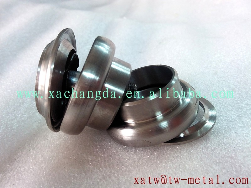 "XACD made titanium bicycle headset titanium 1-1/8"" 34mm headset normal size bicycle headset"