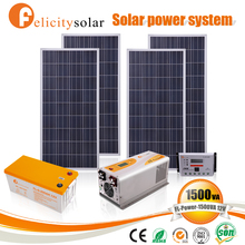 Home use complete solar system for air conditioner 1kw for hotels