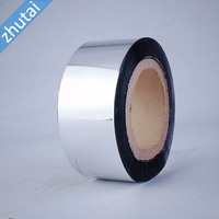 wholesale plastic packaging rolls skin printable colored pe film transparent or metalized