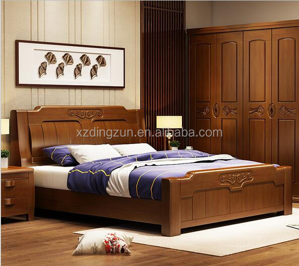High quality wooden bed adjustable box storage bed design for hotel