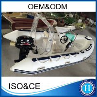 Rigged rigid inflatable boat rib 420 made in china