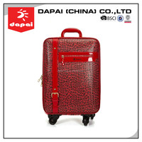 Lady S Fashion PVC Travel Luggage