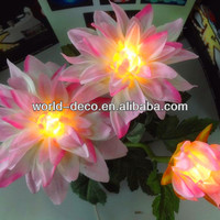 wholesale orchids plants real touch silk flower led lights indoor use
