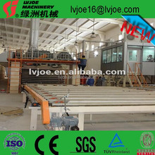 high reward gypsum board production line mini plant / waterproof plaster board machines