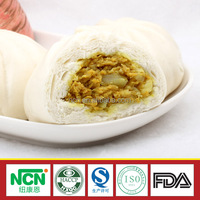Frozen Curry Chicken Steamed Bun W/ Chicken Filling