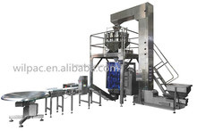 Hot sale high speed fruit and vegetables full automatic weighing and packaging systems with dual servo
