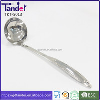 Home cooking tools stainless steel different types of soup ladle