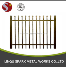Galvanized zinc high security safety fence fencing