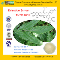 GMP Manufacturer Supply High Quality Epimedium Extract 10%-98% Icariin Extract