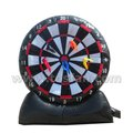 Funny kids inflatable dart board inflatable footaball dart A6060