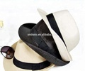 summer sun promotion cheap fedora PP straw hat