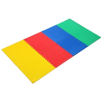 Kids Play Mat, Foam Mat Vloertegels, Interlocking EVA Foam Padding 8 stuks