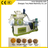 Best price coal powder pellet press/oak wood sawdust pellet extruder/peanut shell pellet making machine