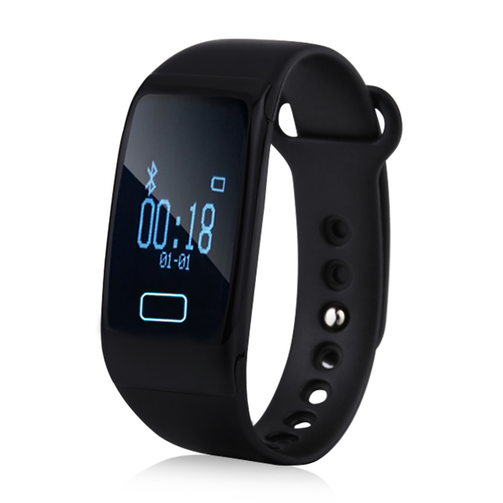 <strong>K18</strong> Fitness Tracking Smart Wristband Bracelet Pedometer Heart Rate Calorie Sleep Monitor Call Sedentary Reminder Bluetooth 4.0