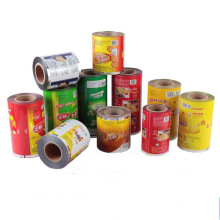 Food/beverage/cake/bread lamination Aluminum Foil printed Packaging Roll films for Automatic Machine