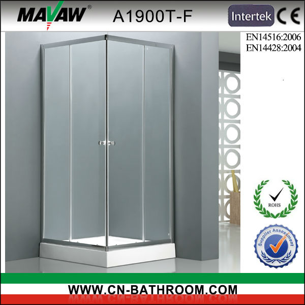 Bathroom high quality glass shower stall A1900T-F