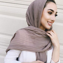 multicolor fashion drape pearl head muslim woman hijab chiffon lady scarf