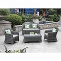 Good Quality Hot Sale Polyrattan Garden Furniture, Patio Sectional