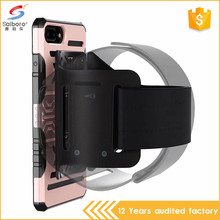 TPU PC running sport armband phone case for iphone 5 6 6plus 7 7plus