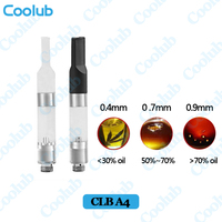 510 oil vaporizer cartridge CLB A4 new ceramic coil wickless pine cigarettes