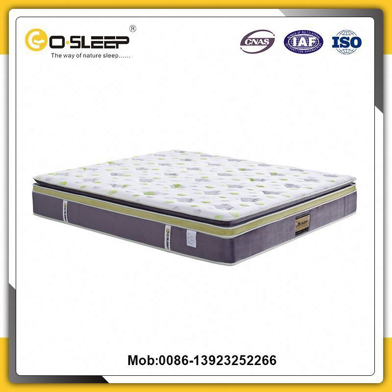 China supplier best double sided organic latex mattress with cheap price
