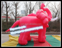 300cm Advertising Inflatable Animal,Elephant Promotional Cartoon,Exhibition Mascot Customized W-10105