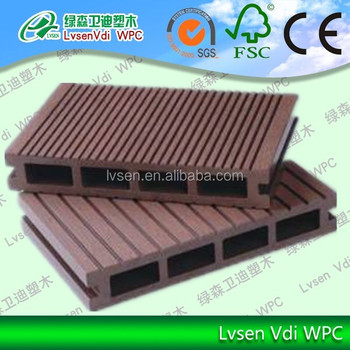 composite laminate flooring wpc outdoor decking wood plastic composite floor