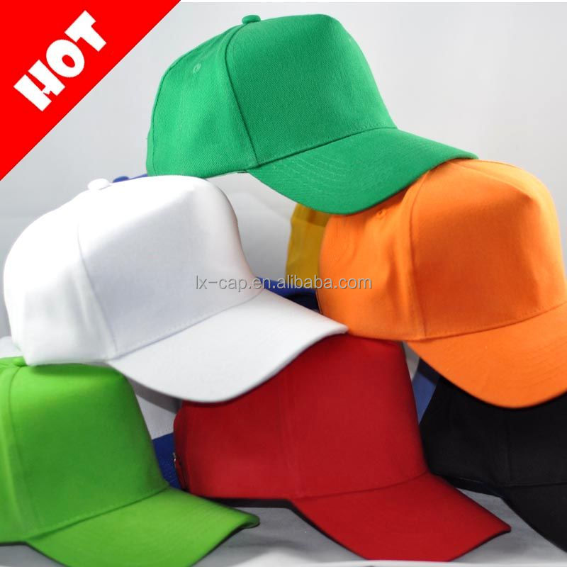 Promotion Election 5 Panel Blank Cotton Face Cap Hat