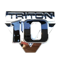 Plastic Emblems TRITON V10 Car Badge Logo
