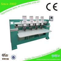 Hot sale factory price six heads tubular embroidery machine