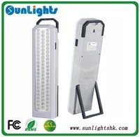UL CE ROHS certificate ABS battery powered fire resistant emergency light