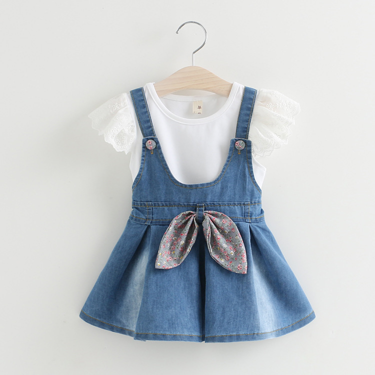 S13661A Cheap fashion hot sell children summer clothes and low price clothes for children